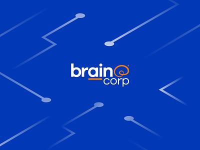Brain Corp Design branding isometric design design ui ux