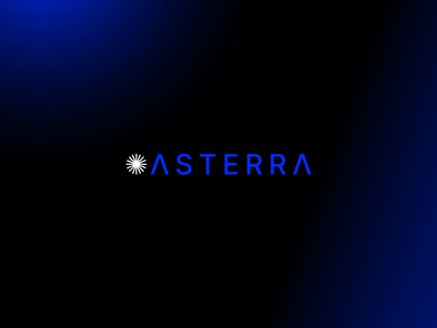 ASTERRA Brand Redesign logo branding design
