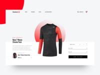 Reebok shop concept - Product Details