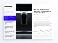 Bloomberg News Desktop App