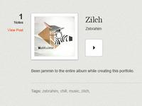 Blog Re-Design (Audio Clip)
