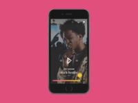 Now Playing - Music App (Mobile)
