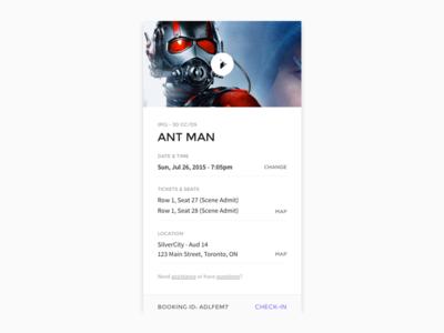 Movie Ticket (Card)
