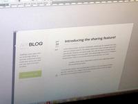 AppBlog (Snippet)