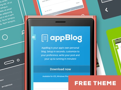 Appblog dribbble final