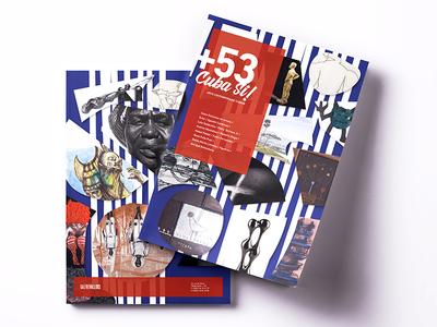 Cuba Si - Cover Design cover design graphic design art catalogue art catalogue design cover