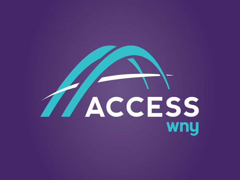 Access Logo branding logo access wny bridge arab non-profit