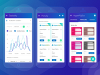 Dashboard admin mobile app