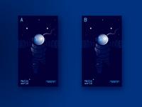 Halftones or no-halftones? astronaut splash-page ui gradients illustration