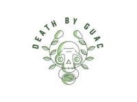 Another-logo-exploration healthfood guacamole skulls line-weights illustration