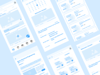 Learning App Wireframes