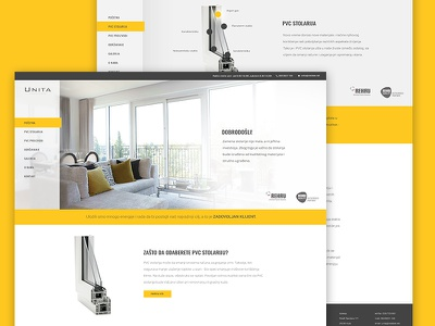 Unita Website Redesign website unita simple redesign modern flat