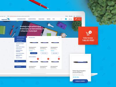 Paper World website