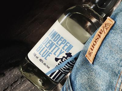 Independently Blue Label Design