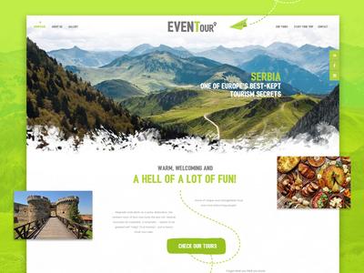 Eventour Web Design