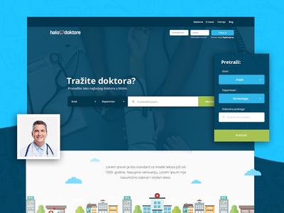 Halo Doktore Website Design