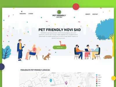 Pet Friendly website