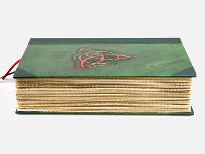 Charmed book case bound box set tv shows dvd packaging charmed