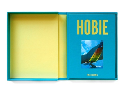 Hobie: Master of Water, Wind and Waves limited edition printing book clamshell surfing
