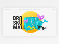 Brosko Mall website