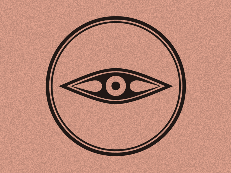 Pottery Pattern Eye branding logo 彩陶 古典图案 中国风