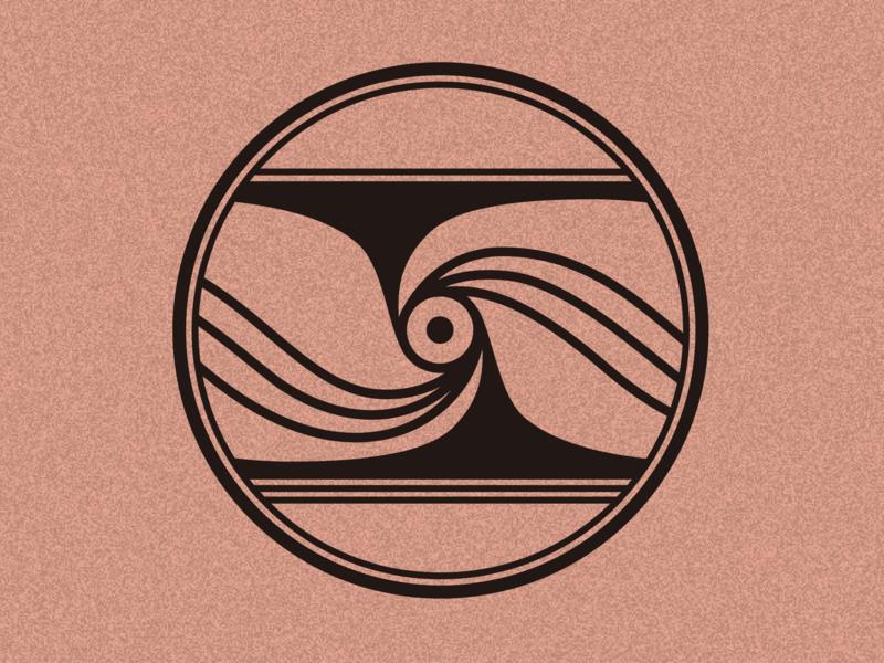 Pottery Pattern Wave 彩陶 古典图案 illustration 中国风 logo branding