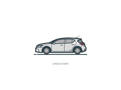 Lexus Ct200h  ui