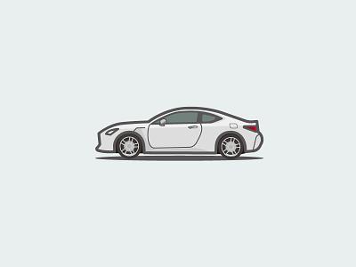 Lexus RCF sport car lexus ui