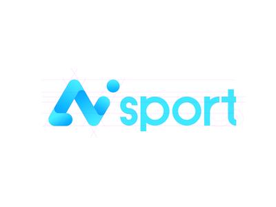 Aisport-logo tv basketball student study app sport logo