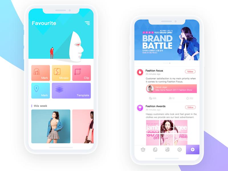 Fashion ui color app fashion