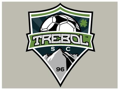 Trebol Soccer Club Logo identity logo insignia soccer youth