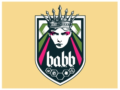B.A.B.B. Team Logo jersey logo soccer