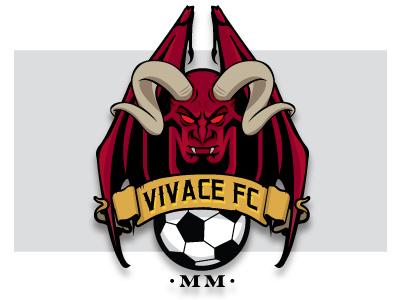 Vivace FC '18 logo soccer demon