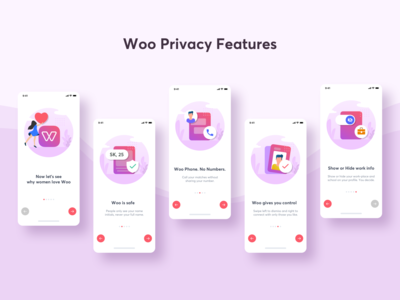 Woo (Dating App) Privacy Features for women
