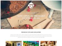 Lescotia - Premium Cupcakes Website