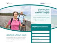 W Eye Clinic - Cataract Forum Microsite