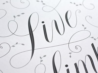 Live Simply Detail