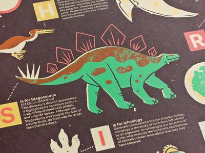 Dino Poster Closeup