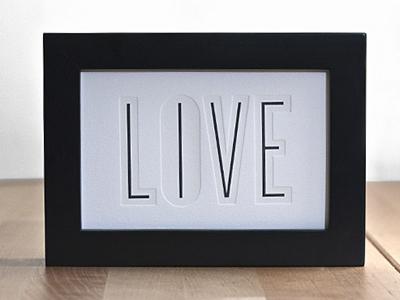 Live Print live print letterpress glow in the dark 2 colors cranes lettra sans type
