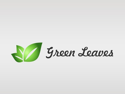 Green Leaves Logo website logo icon logo