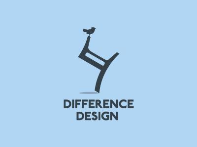 Difference Design logo design bird chair unusual architecture