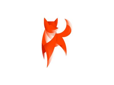 Fox mark logo mark fox foxy orange red wip sale