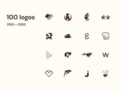10 years — 100 logos branding logo design logo