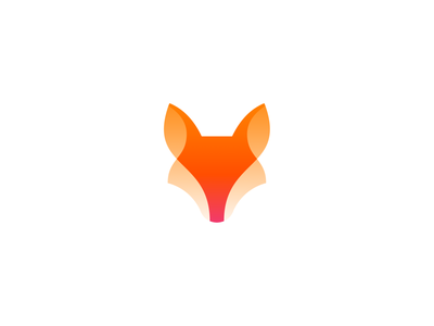 Fox logo icon design icon logo design logo branding