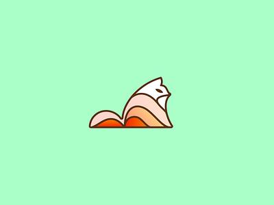 7 / 28 Foxbruary (replacement) fox branding icon icon design logo design logo