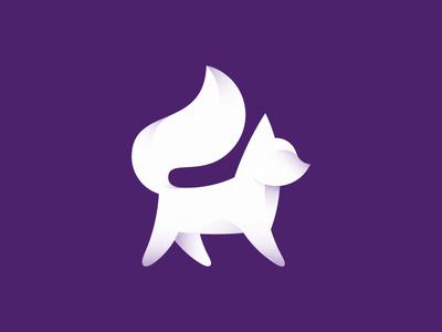 Polar Fox (2nd) cold tail polar foxy fox mark logo