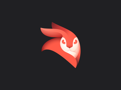 Enlight Videoleap logo enlighten video fire rabbit mark logo