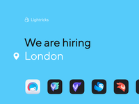 We Are Hiring in London