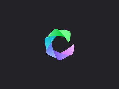 C mark letter icon design icon logo design mark logo