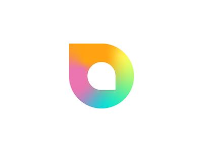 Drops mark drops drop branding letter wip icon design icon logo design mark logo